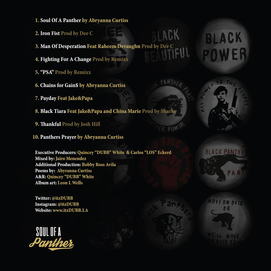 dubb-soul-of-a-panther-tracklist
